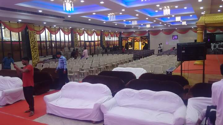 Outdoor Weddings Place Seats Establishment