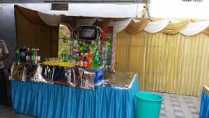 reception sweet stalls